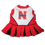 Nebraska Corn Huskers Cheerleader Outfit for Dogs