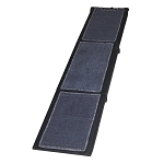 Carpeted Tri-Fold Pet Ramp