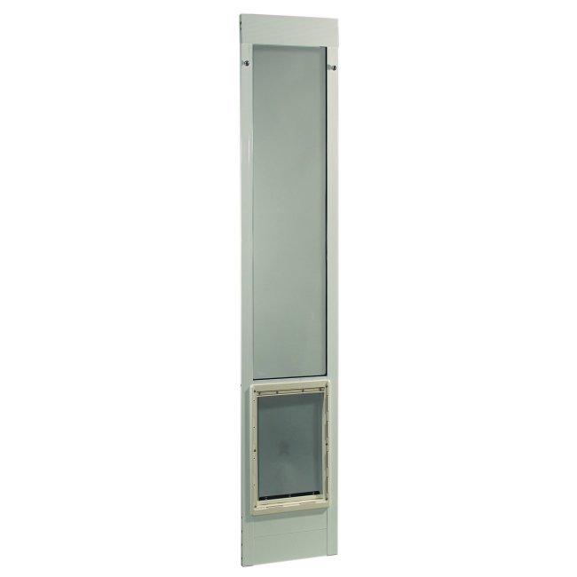 Ideal pet fast fit pet patio door for 78 inch doors for Ideal door replacement panels