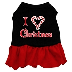 I Love Christmas Dress