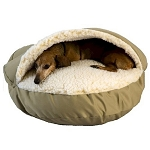 Large Cozy Cave Orthopedic Dog Bed
