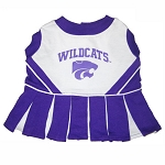 Kansas State Wildcats Cheerleader Outfit for Dogs