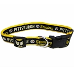 Pittsburgh Steelers NFL Dog Collars