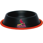 St. Louis Cardinals Stainless Dog Bowl