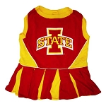 Iowa State Cyclones Cheerleader Outfit for Dogs