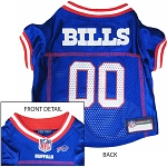 Buffalo Bills NFL Dog Jersey