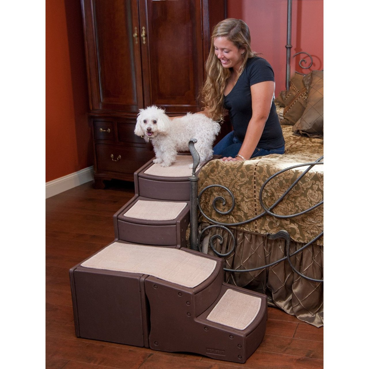 Pet Gear Easy Step Bed Pet Stairs Radiofence Com
