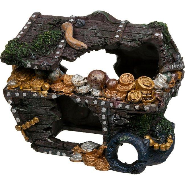 Treasure Chest Aquarium Decoration