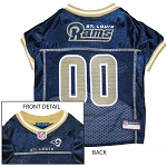 St. Louis Rams NFL Dog Jersey