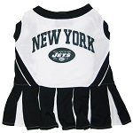 New York Jets NFL Cheerleader Outfit for Dogs