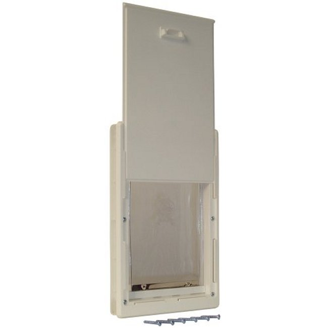 Ideal pet plastic frame pet door for Ideal pet doors