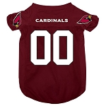 Arizona Cardinals Deluxe Dog Jersey