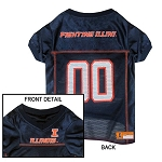 Illinois Fighting Illini Dog Jersey