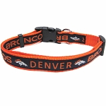 Denver Broncos NFL Dog Collars