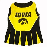 Iowa Hawkeyes Cheerleader Outfit for Dogs