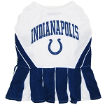 Indianapolis Colts NFL Cheerleader Outfit for Dogs