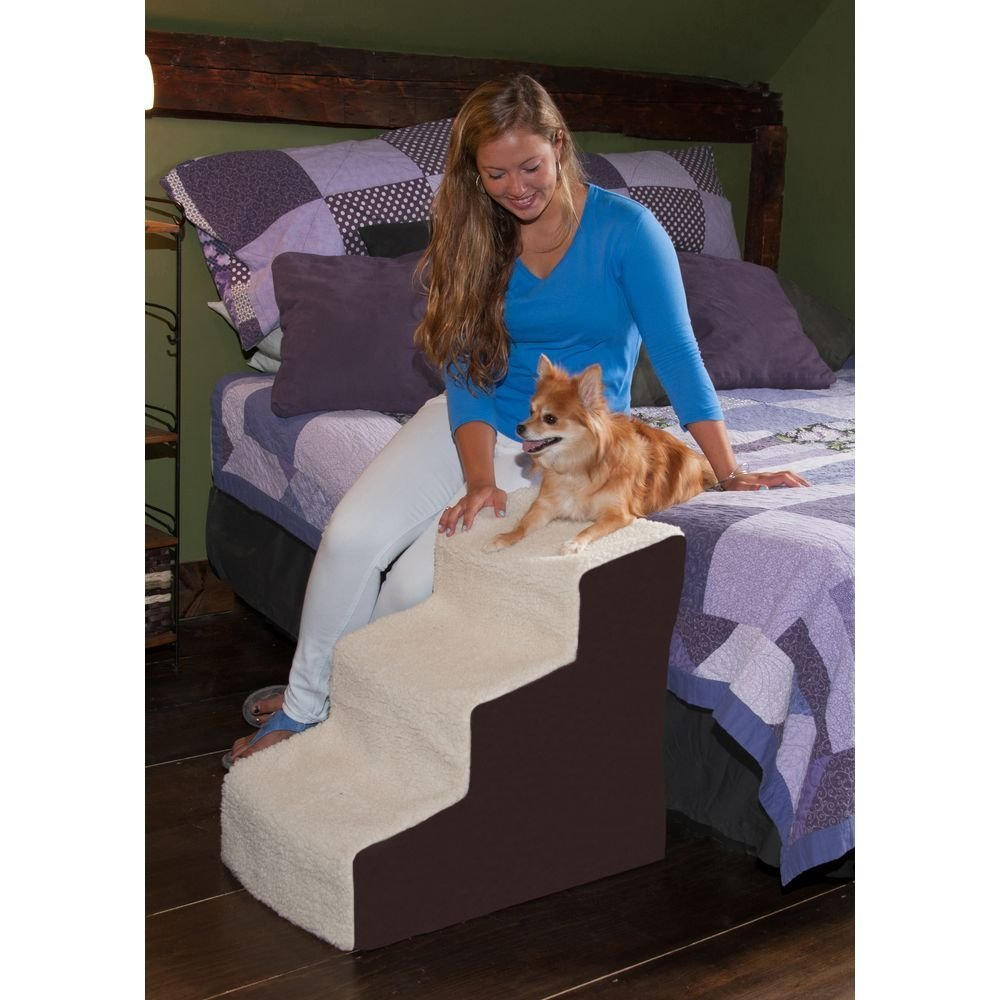 Pet Gear Easy Step III Deluxe Soft Pet Stairs