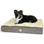 Small Feather Top Orthopedic Pet Bed