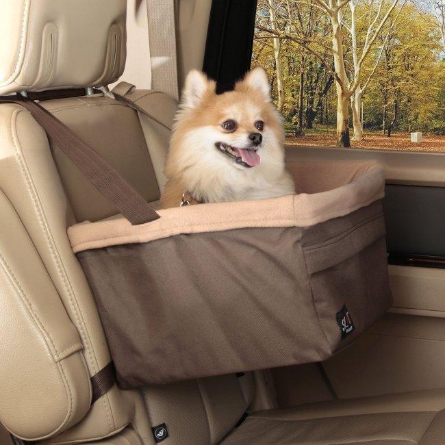 Pet Booster Seat >> Solvit Tagalong Booster Seat Dog Car Seats
