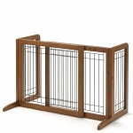 Bay Isle Freestanding Dog Gate