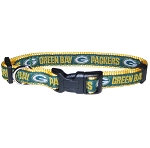 Green Bay Packers NFL Dog Collars