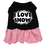 I Love Snow Dress