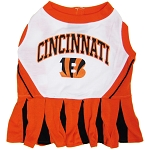 Cincinnati Bengals NFL Cheerleader Outfit for Dogs