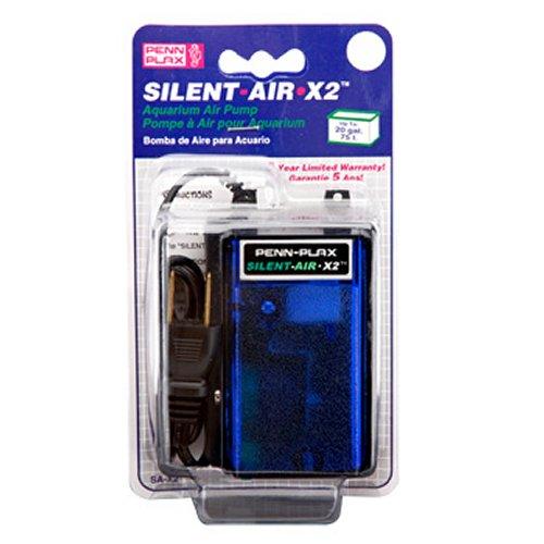 Silent Air Pump 20 Gallon Aquariums Penn Plax