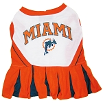 Miami Dolphins NFL Cheerleader Outfit for Dogs