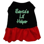 Santa's Lil Helper Dress
