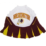 Washington Redskins NFL Cheerleader Outfit for Dogs