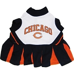 Chicago Bears NFL Cheerleader Outfit for Dogs