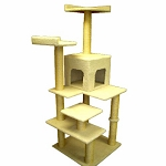 66 Inch Bungalow Cat Tree