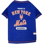 New York Mets Dog Tee Shirt