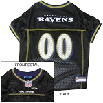 Baltimore Ravens NFL Dog Jersey