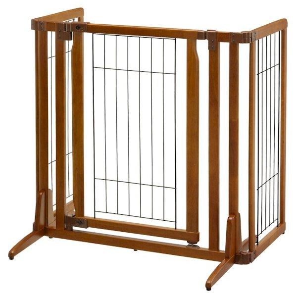 Premium Plus Freestanding Pet Gate With Door 94193