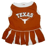 Texas Longhorns Cheerleader Outfit for Dogs