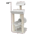 44 Inch Bungalow Cat Tree
