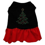 Christmas Tree Rhinestone Dress