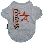 Houston Astros Dog Tee Shirt