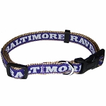 Baltimore Ravens NFL Dog Collars
