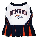 Denver Broncos NFL Cheerleader Outfit for Dogs