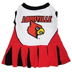 Louisville Cardinals Cheerleader Outfit for Dogs