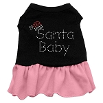 Santa Baby Rhinestone Dress