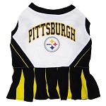 Pittsburgh Steelers NFL Cheerleader Outfit for Dogs