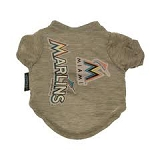 Miami Marlins Dog Tee Shirt