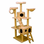 73 Inch Bungalow Cat Tree