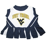West Virginia Cheerleader Outfit for Dogs