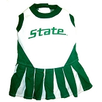 Michigan State Spartans Cheerleader Outfit for Dogs