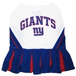 New York Giants NFL Cheerleader Outfit for Dogs